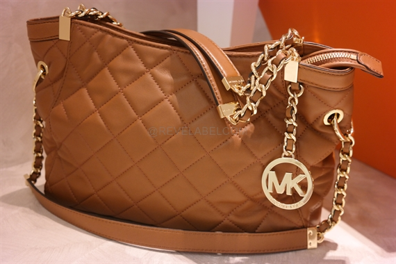 Michael Kors Susannah Quilted Shoulder Bag 30f3gahe2l