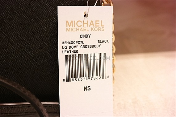 cf3142f7b549 Michael Kors Cindy Large Saffiano Calf Crossbody Black