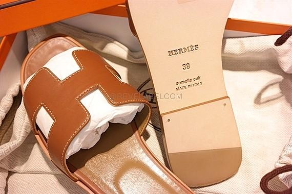 Hermes Oran Sandal Gold Size 39