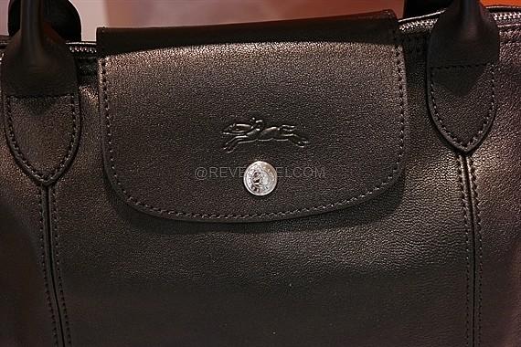 2014 New Portable Longchamp Le Pliage Travel Bags Black