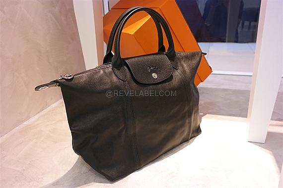 Longchamp Le Pliage Cuir Medium Black 1515737001 d6113166eaa7c