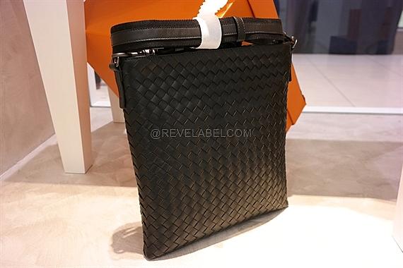 Bottega Veneta Small Messenger Bag Black 276357 V465C 1000 - REVE LABEL 578c838797458
