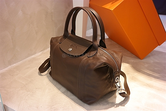 Longchamp Le Pliage Cuir Small Terra Brown 1512 737 C95 - REVE LABEL ccd971850b