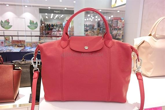 Longchamp Le Pliage Cuir Medium Peony 1515 737 A27