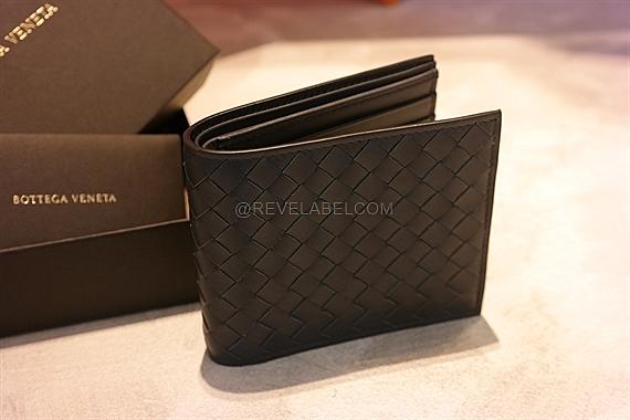 d5d54017cb Bottega Veneta Bifold Wallet Dark Grey 113993 V4651 2015 - REVE LABEL