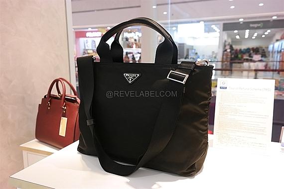 86c47cefa4ef Prada 2-Way Shopping Bag Black 1BG867 V44 V OOO F0002 - REVE LABEL