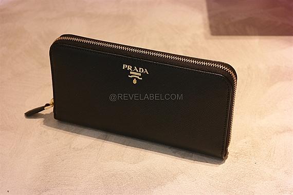 f65710d269a2 Prada Saffiano Zip Around Wallet Black 1ML506 QWA F0002 - REVE LABEL