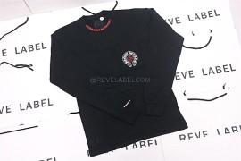 8417a1bfd495 Chrome Hearts Horseshoe Long Sleeve Black (S) (4)