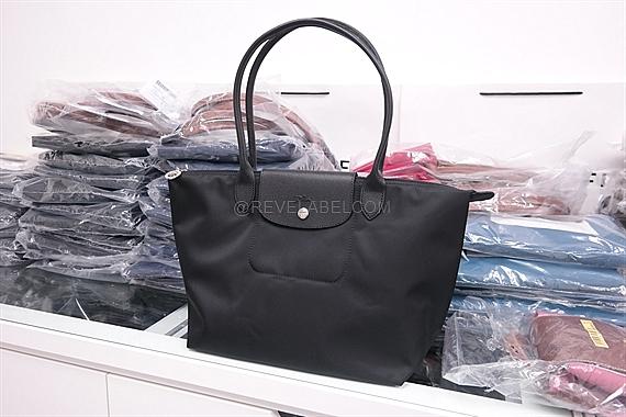 187792a26141 Longchamp Le Pliage Neo Long Handle Small Black 2605 578 001 - REVE ...