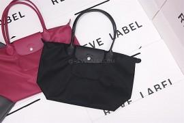 956f8e7e568c Longchamp Le Pliage Neo Long Handle Small Black 2605 578 001 (6)