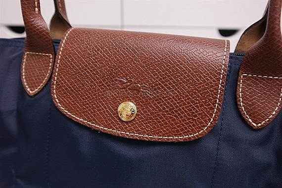 8b367b1e95ccf0 Longchamp Le Pliage Long Handle Small Navy Blue 2605 089 556 - REVE ...