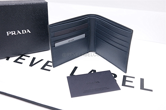 dd70ae746823aa ... new zealand prada saffiano bicolor men wallet 2mo513c5sf0g52 reve label  13775 02e87