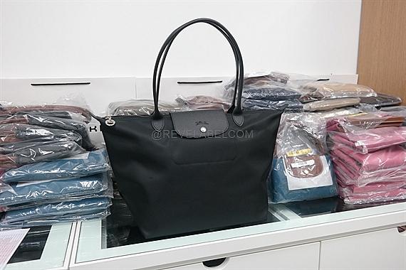 855c36eeba03 Longchamp Le Pliage Neo Long Handle Large Black 1899 578 001 - REVE ...