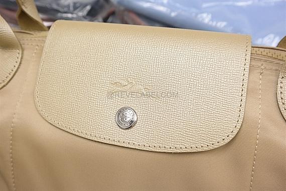 bf48a74fcad6 Longchamp Le Pliage Neo Long Handle Large Gold 1899 578 124 - REVE LABEL