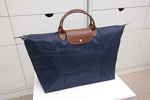 Limited Portable Longchamp Le Pliage Messenger Bags Navy