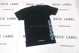 0a5c475b0317 Chrome Hearts Blue Script T-Shirt Black (S) (6)